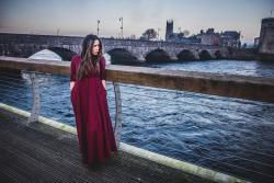 foto the vestido largo de cuadros zara