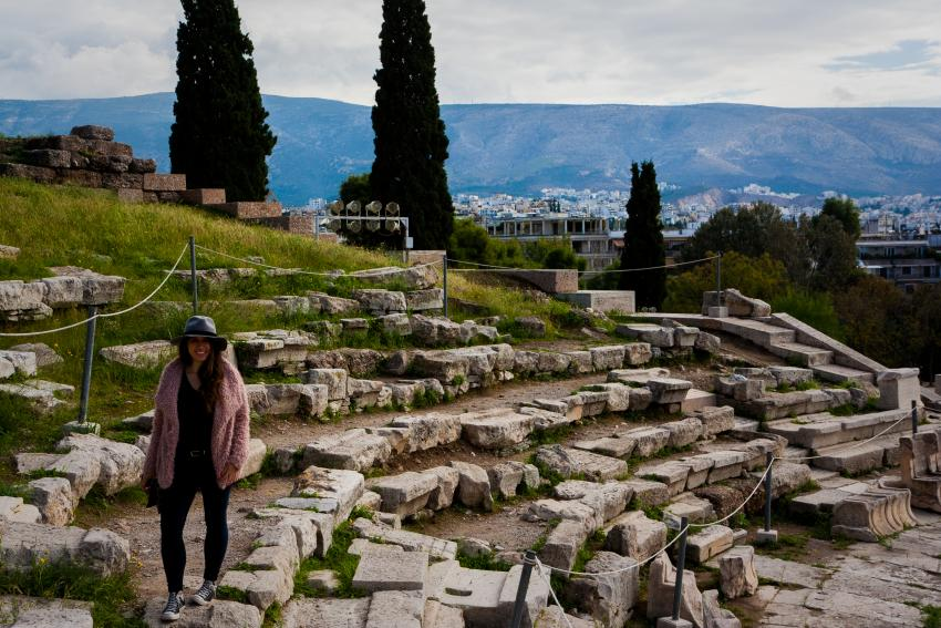 el Teatro de Dionisios