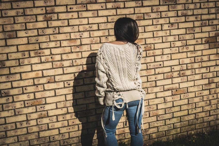 zara sweater cords