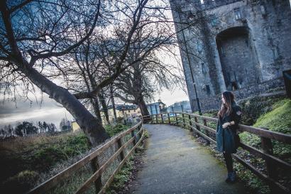 foto tomada en el Bunratty castle